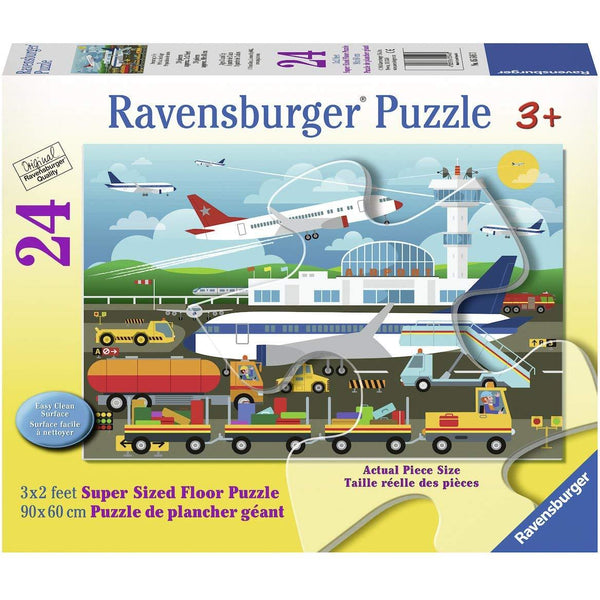 Ravensburger 24 Piece Floor Puzzle Preparing to Fly