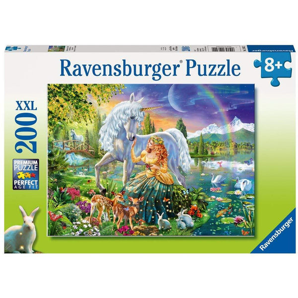 Ravensburger 200 Piece Puzzle Unicorn Gathering at Twilight