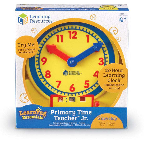 Learning Resources Primary Time Teacher Junior Learning Clock canada ontario