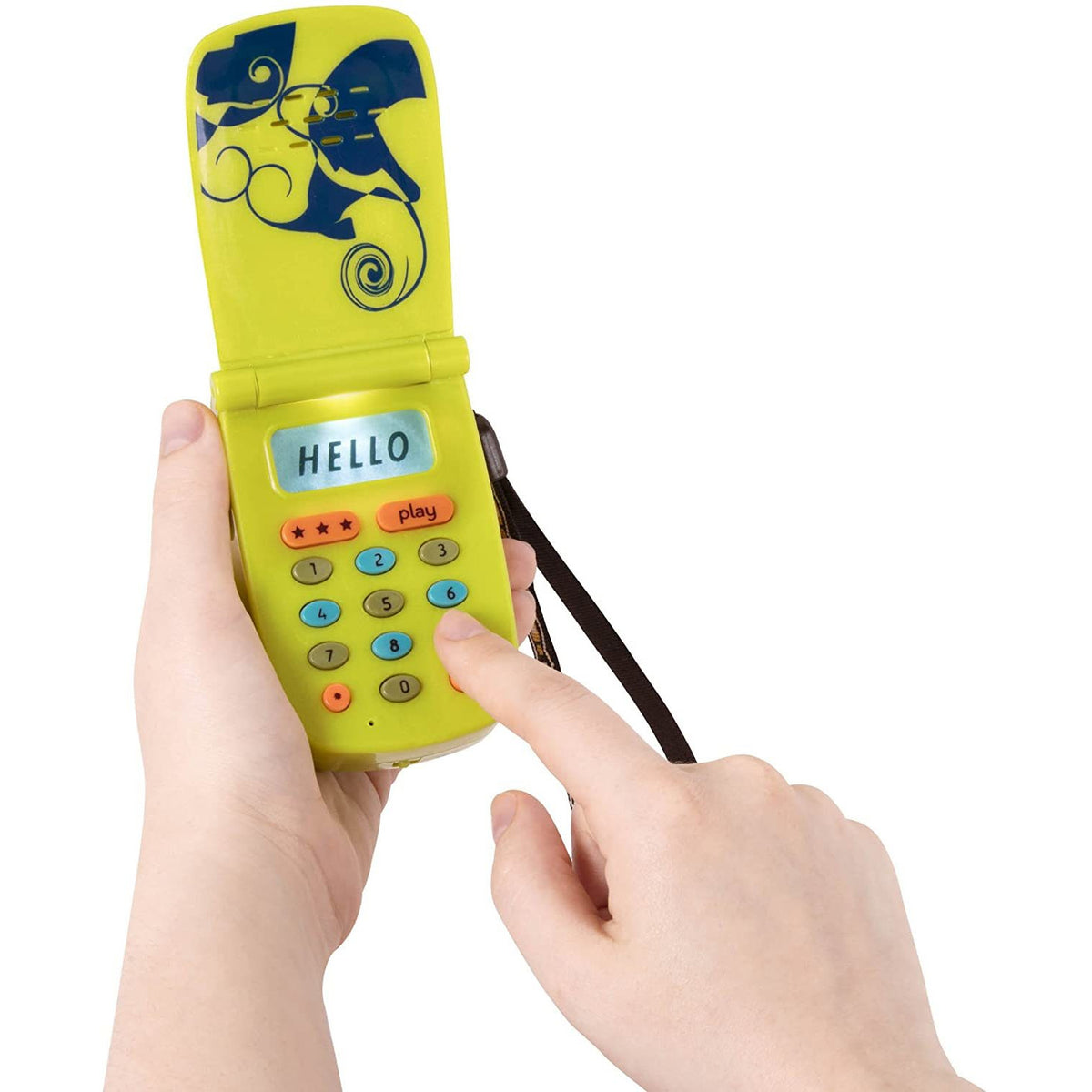 B. Toys Hello Phone Lime BX4719 canada ontario kid toy