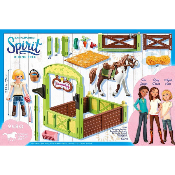 Playmobil Spirit Riding Free Horses Abigail and Boomerang 9480