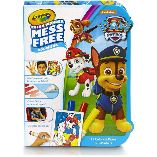 Crayola Colour Wonder on the Go Book Paw Patrol