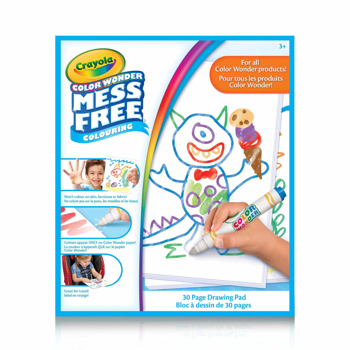 Crayola Mess Free Colour Wonder Book canada ontario