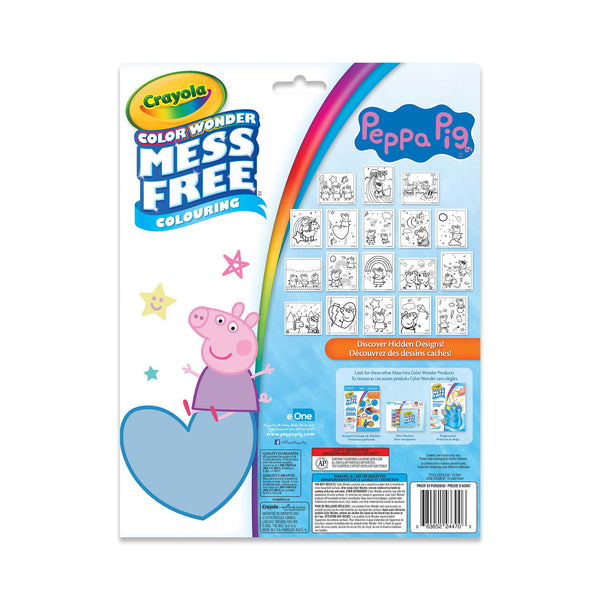 Crayola Colour Wonder Mess Free Peppa Pig Kit canada ontario