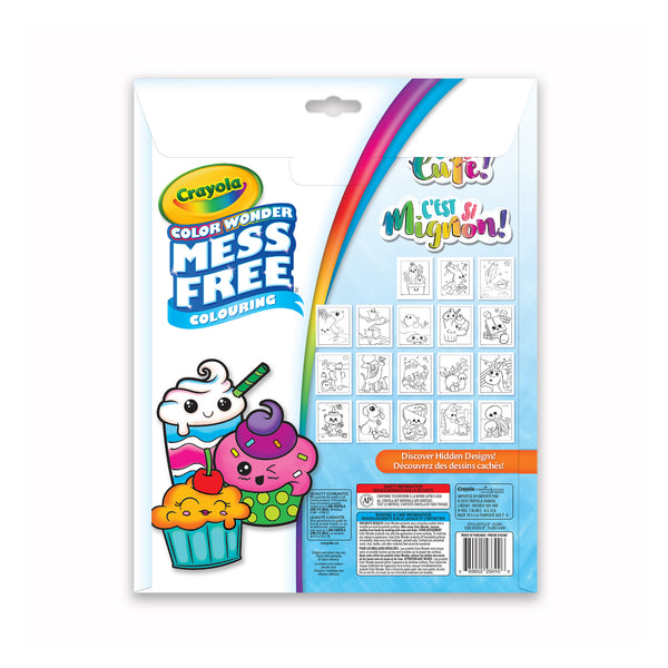 Crayola Colour Wonder Colouring Book Cuteness Overload with Mini Markers canada ontario