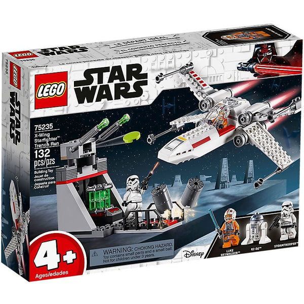 LEGO Star Wars X-Wing Starfighter Trench Run 75235