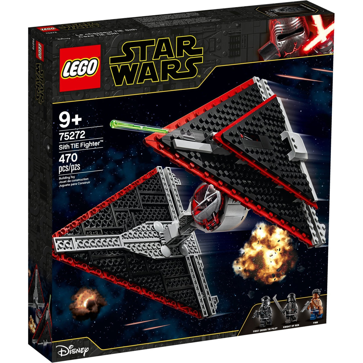 LEGO Star Wars Sith TIE Fighter 75272 canada ontario knight of ren finn pilot
