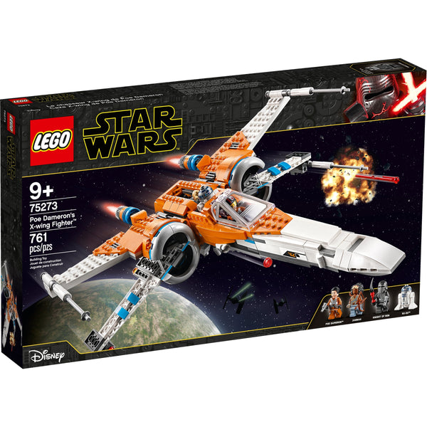 LEGO Star Wars Poe Dameron's X-Wing Fighter 75273 canada ontario r2d2 Knight of Ren Jannah