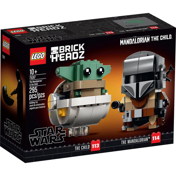 LEGO Brickheadz Star Wars The Mandalorian & The Child 75317 canada ontario