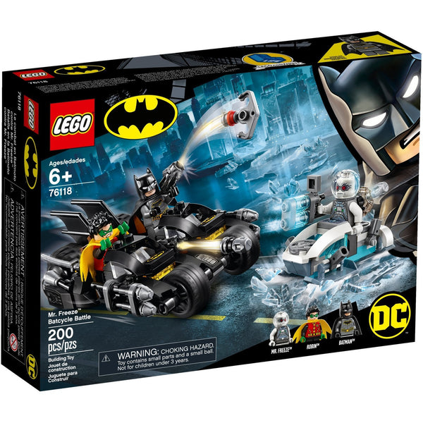 LEGO Super Heroes Mr. Freeze Batcycle Battle 76118 canada ontario batman