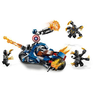 LEGO Marvel Super Heroes Captain America: Outriders Attack 76123 canada ontario