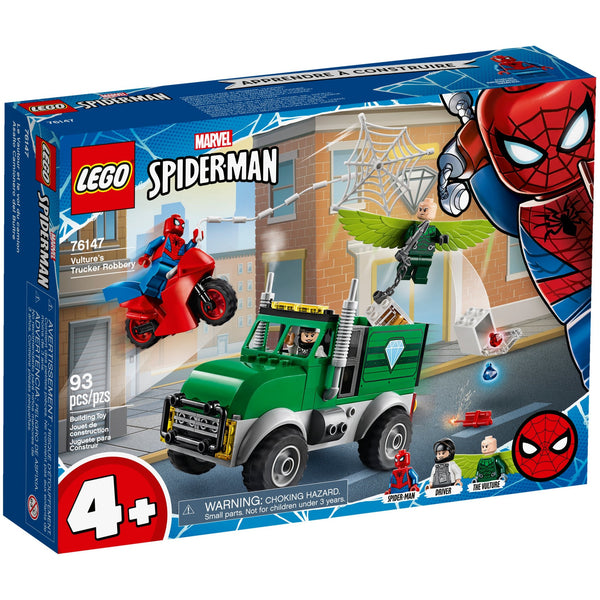 LEGO Marvel Super Heroes Vultures Trucker Robbery 76147 canada ontario new 2020 spiderman