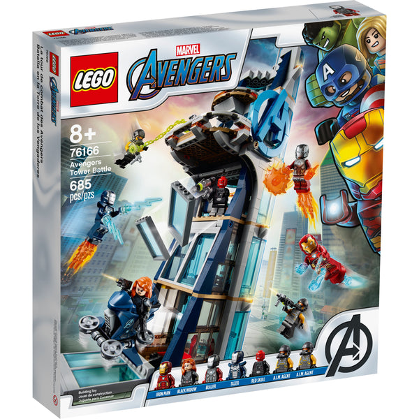 LEGO Super Heroes Marvel Avengers Tower Battle 76166 canada ontario