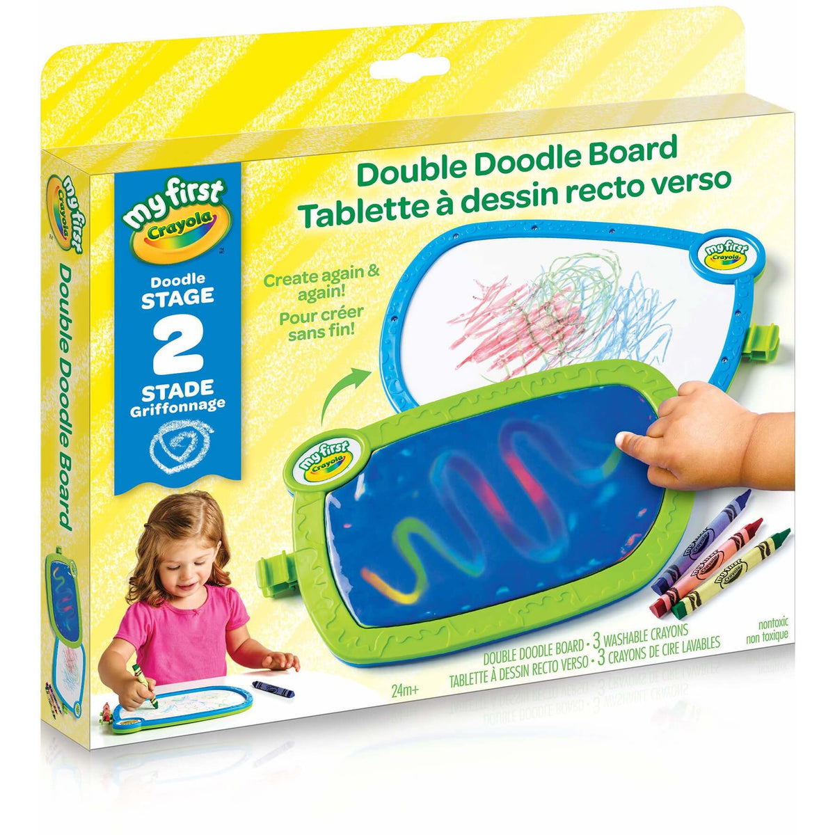 Crayola My First Double Doodle Board