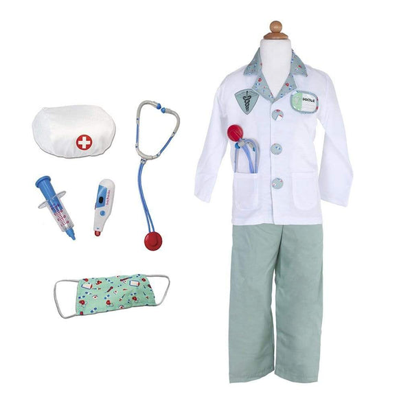 Great Pretenders Green Doctor with Accessories Size 5/6 81205 canada ontario