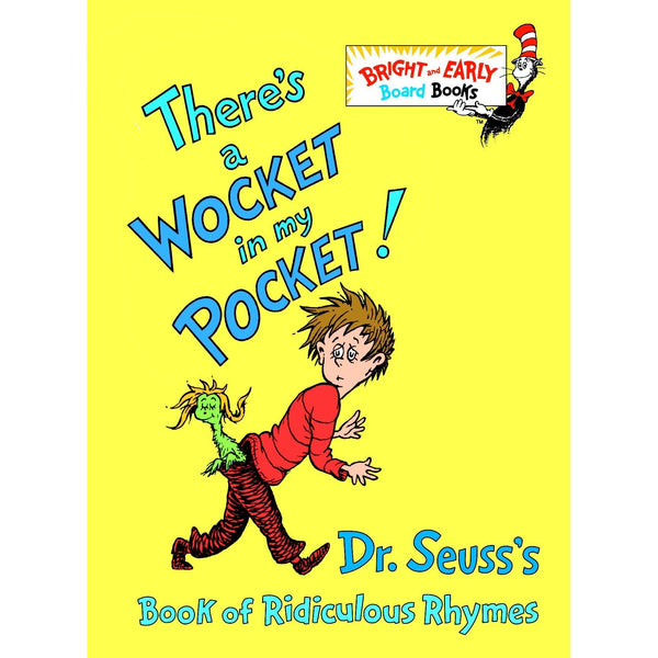 Dr. Seuss There's a Wocket in My Pocket ISBN: 9780394829203 canada ontario book