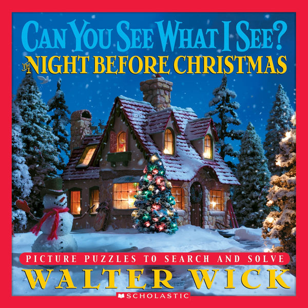 Can You See What I See? The Night Before Christmas: Picture Puzzles to Search and Solve canada ontario walter wick