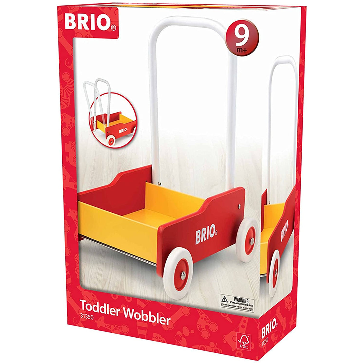 Brio Toddler Wobbler canada ontario 31350 wooden