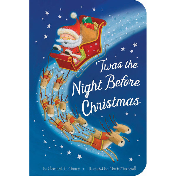 Twas the Night Before Christmas canada ontario book mark marshall clement moore