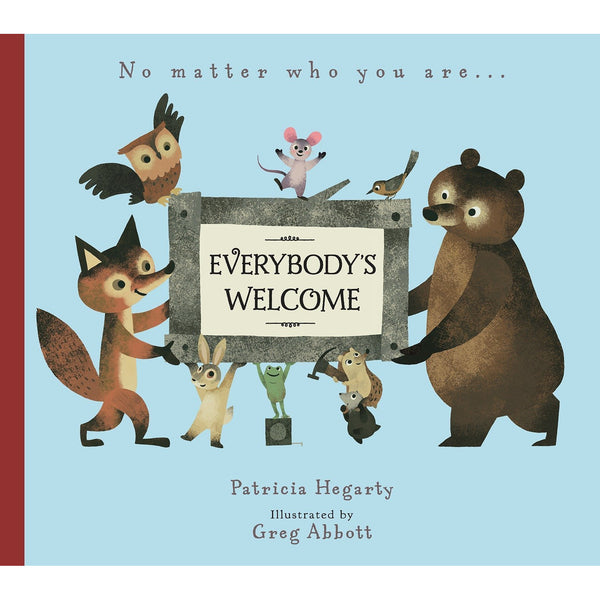 Everybody's Welcome Book patricia hegarty greg abbott inclusive diversity canada ontario