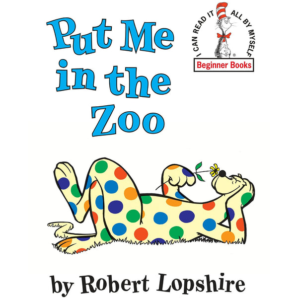 Dr. Seuss' Put Me In The Zoo ISBN 9780394800172 canada ontario beginner books