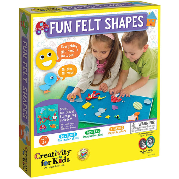 Creativity for Kids My First Fun Felt Shapes canada ontario