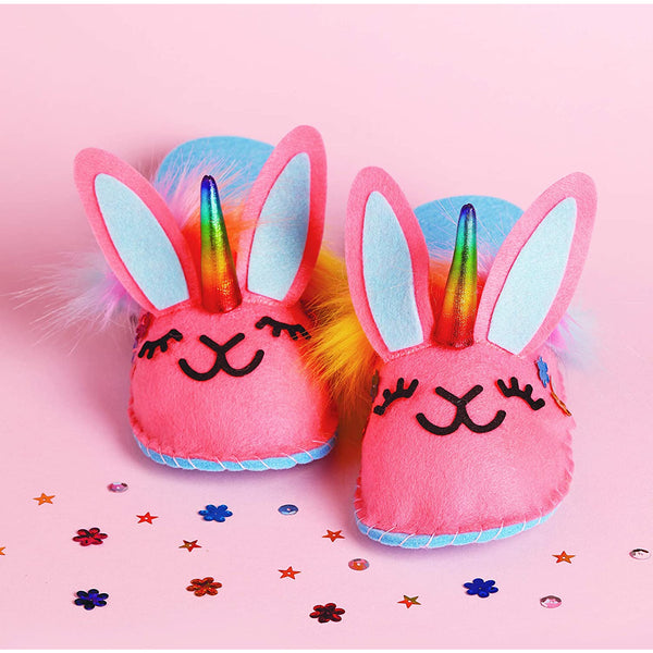 Klutz Sew Your Own Unicorn Bunny Slippers 9781338643732 canada ontario