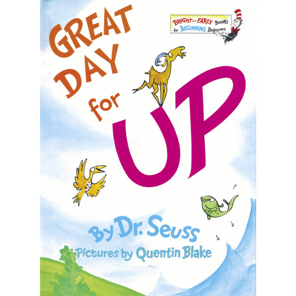 Dr. Seuss' Great Day for Up ISBN: 9780394829135 canada ontario quentin blake