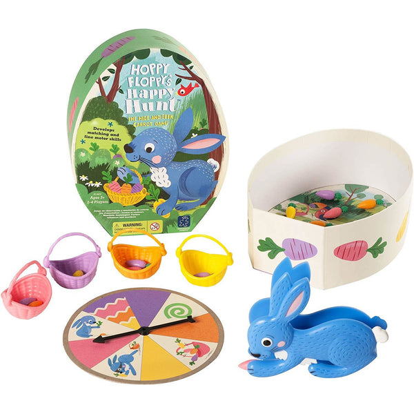 Educational Insights Hoppy Floppy's Happy Hunt Game 4143 canada ontario board game squeezer game