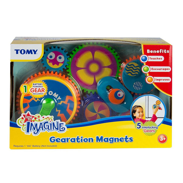 Tomy Gearation Refrigerator Magnets canada ontario kids toy