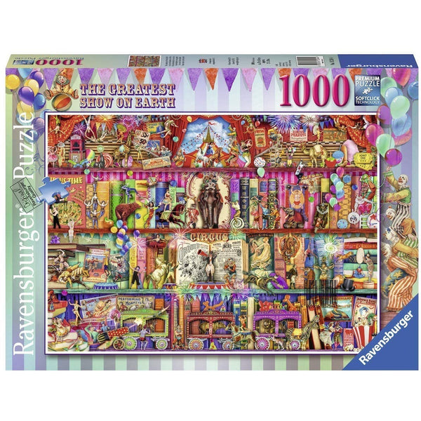 Ravensburger 1000 Piece Puzzle Greatest Show on Earth 15254 canada ontario