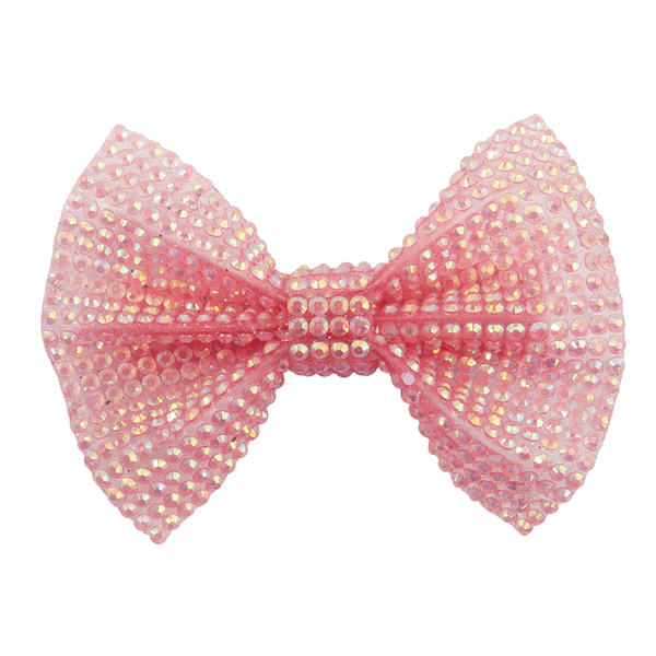 Great Pretenders Boutique Pink Gem Bow Hairclip 90802 canada ontario