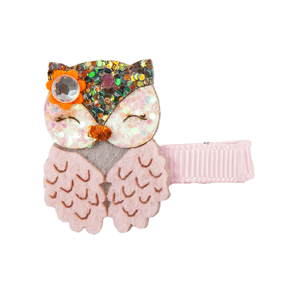 Great Pretenders Boutique Dear Owl Hairclip 90811 canada ontario