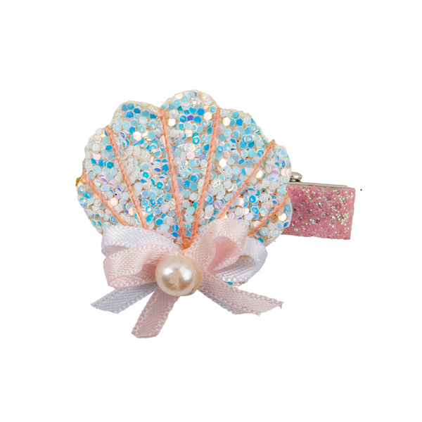 Great Pretenders Boutique Sparkle Shell Hairclip 90812 canada ontario clip alligator
