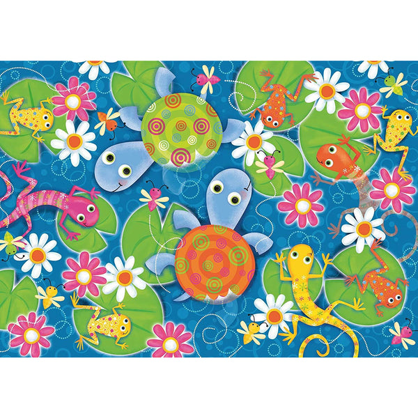 Ravensburger 35 Piece Puzzle Colourful Reptiles