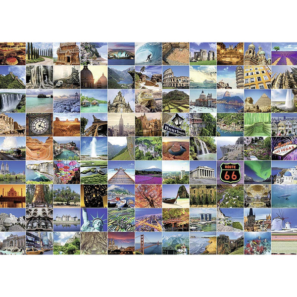 Ravensburger 1000 Piece Puzzle 99 Beautiful Places on Earth