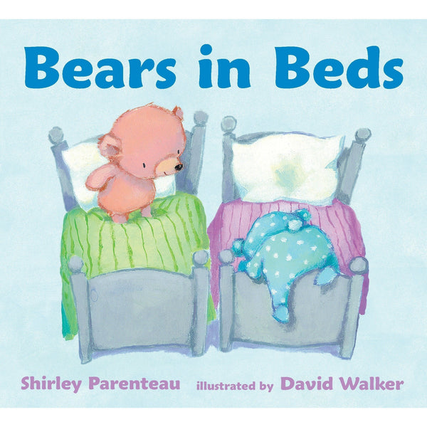Bears in Beds ISBN: 9780763670986 shirley parenteau canada ontario david walker board book