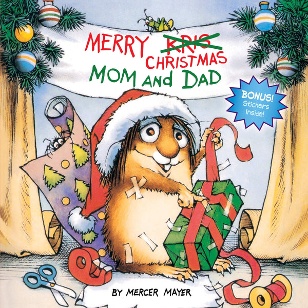 Little Critter: Merry Christmas Mom & Dad 9780307118868 mercer mayer canada ontario book
