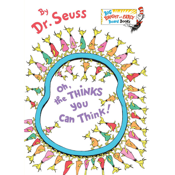 Dr. Seuss' Oh, The Thinks You Can Think! ISBN: 9780394831299 canada ontario hardcover book