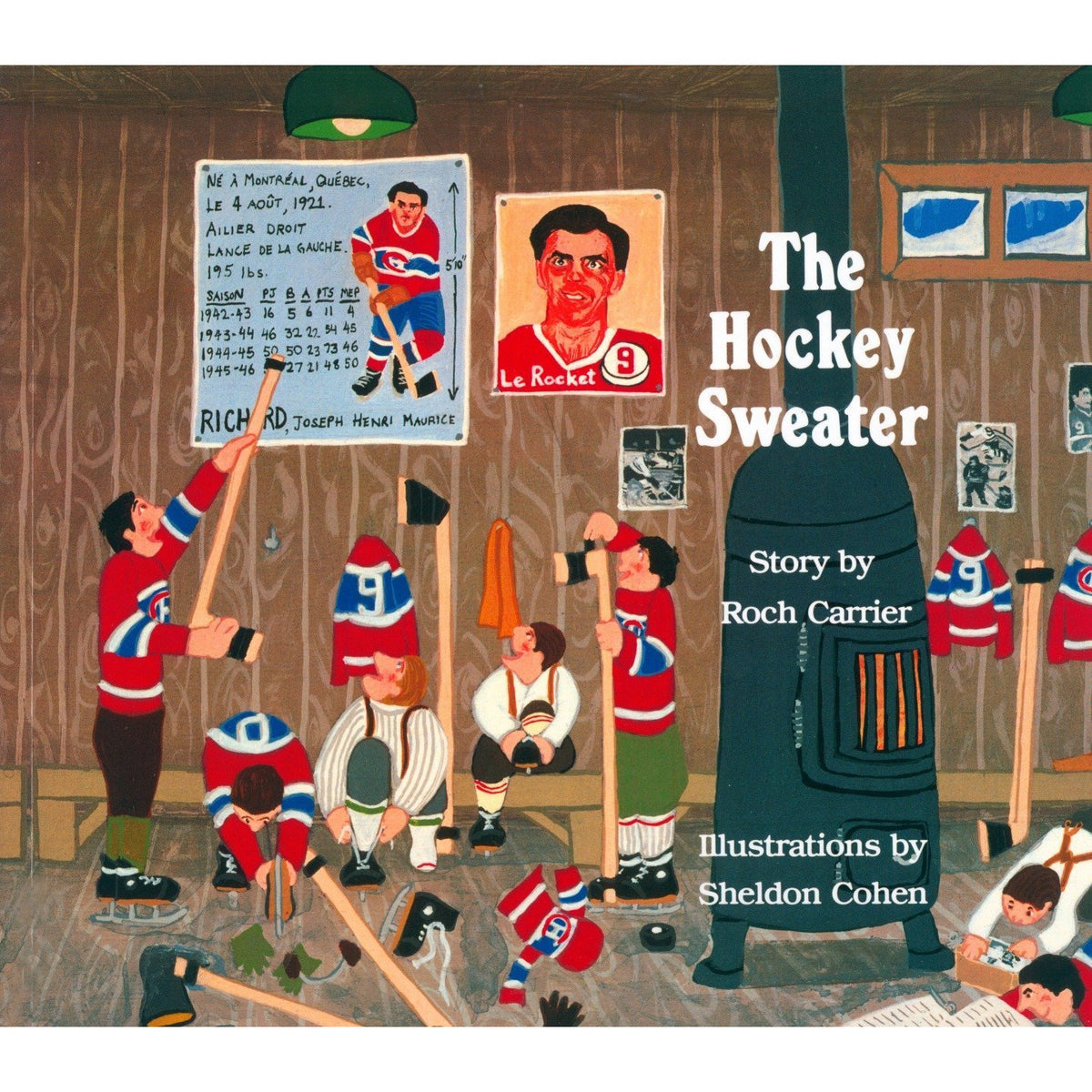 The Hockey Sweater Book roch carrier canada ontario