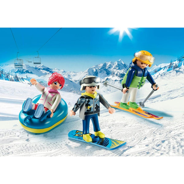 Playmobil Family Fun Winter Sports Trio