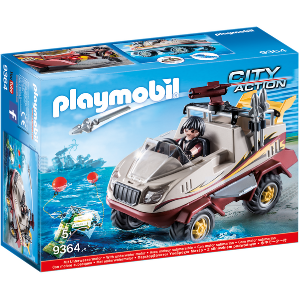 Playmobil City Action Amphibious Truck 9364 canada