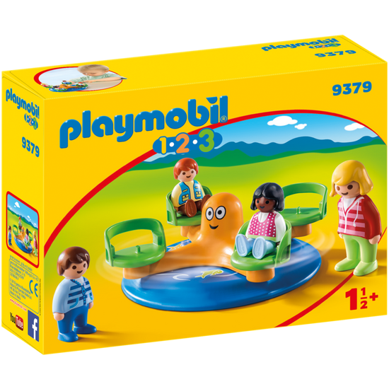 Playmobil 123 Children's Carousel 9379 canada ontario baby infant toddler toy