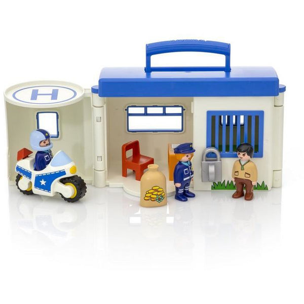 Playmobil 123 Take Along Police Station 9382 canada ontario cops toy travel