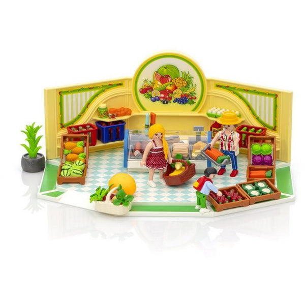 Playmobil City Life Grocery Shop 9403 shopping food ontario canada
