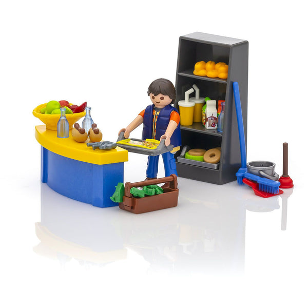 Playmobil City Life School Janitor 9457 canada ontario