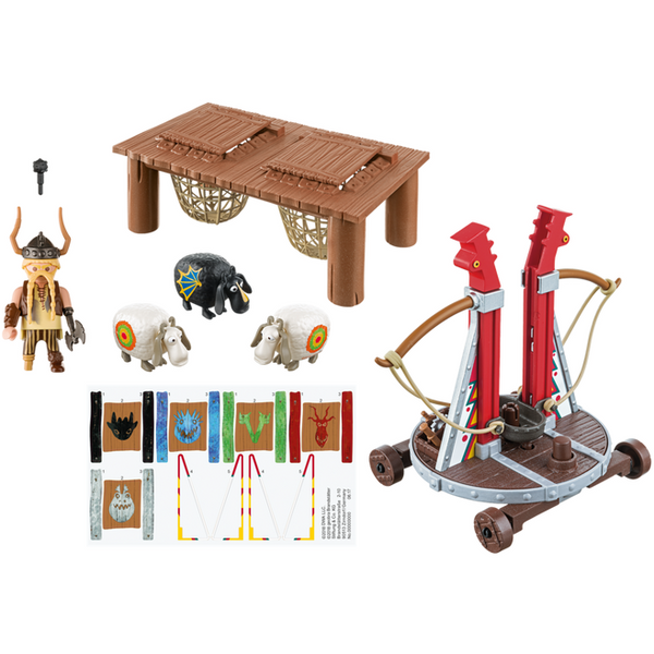 Playmobil Dragons Gobber the Belch with Sheep Sling