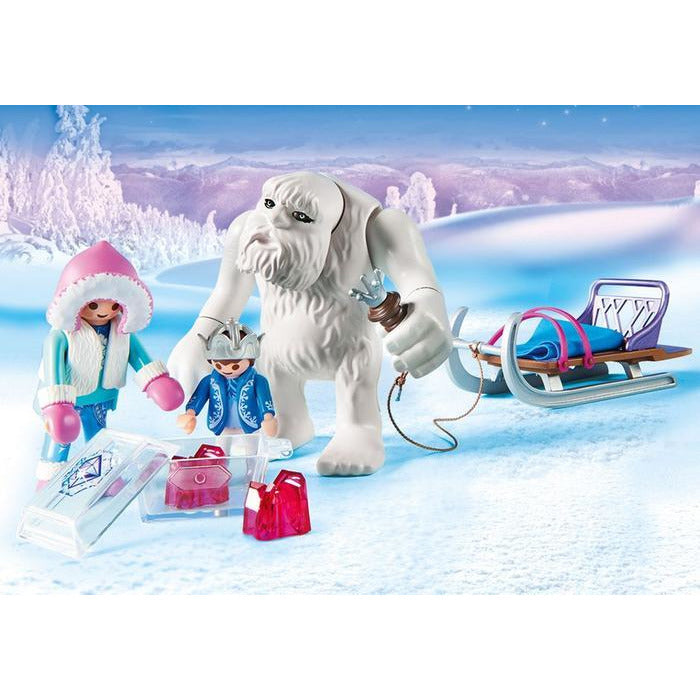 Playmobil Magic Yeti with Sleigh 9473 frozen ice snow canada ontario elsa snowman