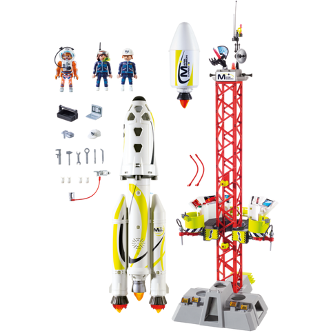 Playmobil Space Mission Rocket with Launch Site 9488 canada ontario nasa toy