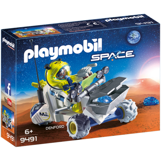Playmobil Space Mars Rover 9491 canada ontario toy nasa car vehicle